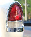 Brake lights the old car or tail Royalty Free Stock Photos