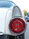 Brake lights the old ford fairlane car or tail Stock Photography