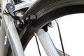 Brake of a race road bike Royalty Free Stock Photo