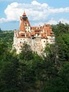 Bran castle, also known as Dracula`s castle, Romania Royalty Free Stock Photo