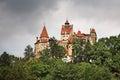 Bran Castle (Castle of Dracula). Romania Royalty Free Stock Photo