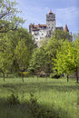 Bran castle the famous home of dracula romania Royalty Free Stock Photography