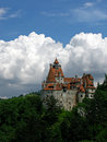 Bran castle taken in romania Stock Photos