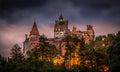 Bran castle Royalty Free Stock Photo