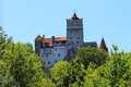 Bran castle in transylvania romania Royalty Free Stock Image