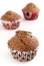 Bran muffins Royalty Free Stock Photos