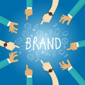 Brand building build company business name branding team work marketing