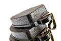 Brand new brake pads for the automotive industry Royalty Free Stock Photography