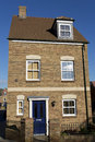 Brand new detached townhouse Royalty Free Stock Photos