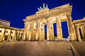 Brandenburg gate in berlin germany Stock Photo