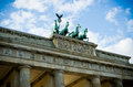 Brandenburg gate in berlin germany Royalty Free Stock Photos