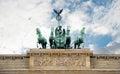 Brandenburg Gate, Berlin, Germany Royalty Free Stock Photo