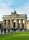 The Brandenburg Tor in Berlin Stock Photo