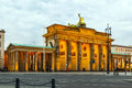 Brandenburger Tor in Berlin Royalty Free Stock Photo