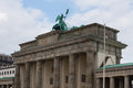 Brandenburger tor berlin germany Royalty Free Stock Photo
