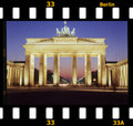 Brandenburger Tor/ Brandenburg gate Royalty Free Stock Images