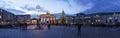 Brandenburger tor at christmas Royalty Free Stock Photo