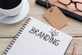 Branding idea Royalty Free Stock Photo