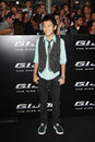 Brandon soo hoo gi joe premiere arriving at the at the grauman s chinese theater in los angeles ca on august Stock Photo