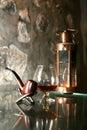 Brandy glass Royalty Free Stock Photo
