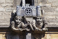 Brasenose College Gargoyle in Oxford Royalty Free Stock Photo