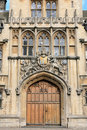 Brasenose College Oxford door Royalty Free Stock Photography