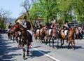 Brasov City celebration days (Romania) Stock Image