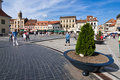 Brasov Council Square Royalty Free Stock Photography