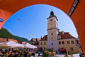Brasov Council Square Stock Image