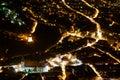 Brasov-night view Royalty Free Stock Photo