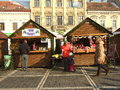 Brasov the old city in a sunny day of winter Stock Photos