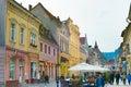 Brasov Old Town street. Romania