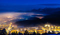 Brasov overview Stock Photography