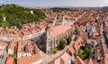 Brasov panorama Royalty Free Stock Photo