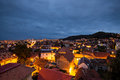 Brasov - view by night Royalty Free Stock Photo
