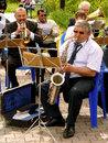 Brass band budyonnovsk stavropol region russia may municipal on the labor day celebration on st of may in budyonnovsk russia Stock Image
