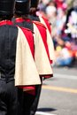 Brass band parade in usa Stock Photography