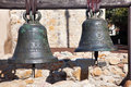 Brass Bells Mission San Juan Capistrano California Royalty Free Stock Photography