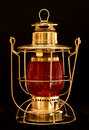 Brass Lantern Stock Photo