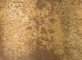 Brass texture Royalty Free Stock Photo