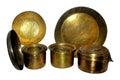 Brass utensils Royalty Free Stock Photo