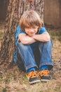Brat little boy - revive Royalty Free Stock Photo