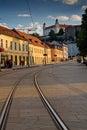 Bratislavský hrad večer