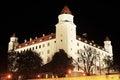 Bratislavský hrad v noci