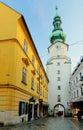 Bratislava - Michael Tower (Michalska Brana), Slovakia. Historic