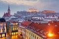 Bratislava panorama - Slovakia - Eastern Europe city