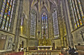 Bratislava the presbytery of st martin cathedral from cent slovakia february Royalty Free Stock Image