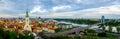 Bratislava, Slovakia day time landscape