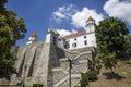 Bratslava castle in Slovakia
