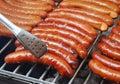 Bratwurst sausages Royalty Free Stock Photo